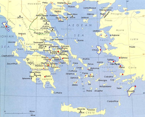 Ancient Greek Geography